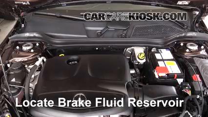 2016 Mercedes-Benz GLA250 4Matic 2.0L 4 Cyl. Turbo Brake Fluid