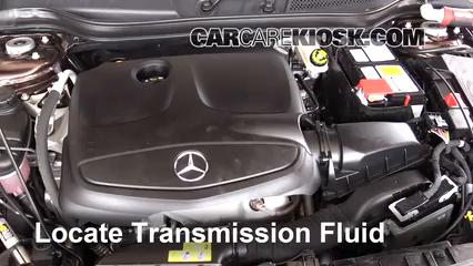 2016 Mercedes-Benz GLA250 4Matic 2.0L 4 Cyl. Turbo Transmission Fluid