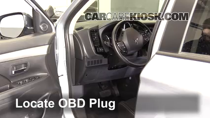 2016 Mitsubishi Outlander SE 2.4L 4 Cyl. Check Engine Light