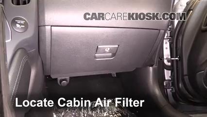 2016 Nissan 370Z 3.7L V6 Coupe Air Filter (Cabin)