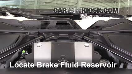 2016 Nissan 370Z 3.7L V6 Coupe Brake Fluid
