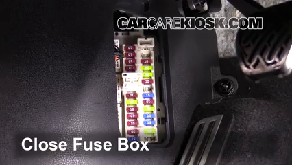 interior fuse box location: 2009-2019 nissan 370z - 2016 nissan 370z 3.7l  v6 coupe  carcarekiosk