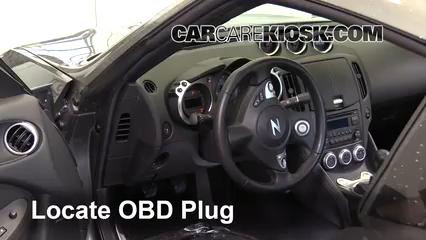 2016 Nissan 370Z 3.7L V6 Coupe Check Engine Light