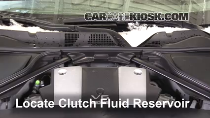 2016 Nissan 370Z 3.7L V6 Coupe Transmission Fluid