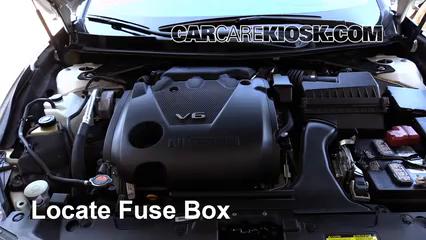 2016 Nissan Maxima SR 3.5L V6 Fusible (motor) Cambio