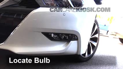2016 Nissan Maxima SR 3.5L V6 Luces Luz de niebla (reemplazar foco)