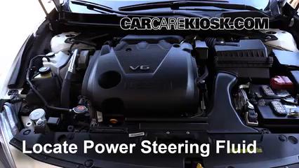 2016 Nissan Maxima SR 3.5L V6 Líquido de dirección asistida