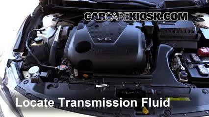 2016 Nissan Maxima SR 3.5L V6 Líquido de transmisión Agregar líquido