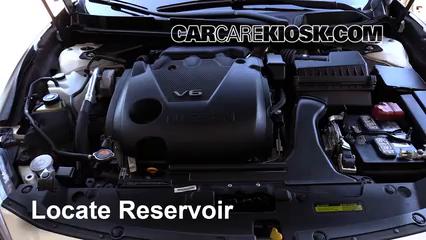 2016 Nissan Maxima SR 3.5L V6 Líquido limpiaparabrisas