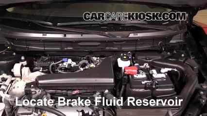 2016 Nissan Rogue S 2.5L 4 Cyl. Brake Fluid