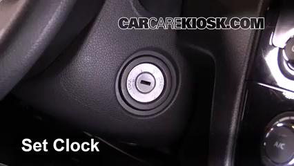 2016 Nissan Rogue S 2.5L 4 Cyl. Clock