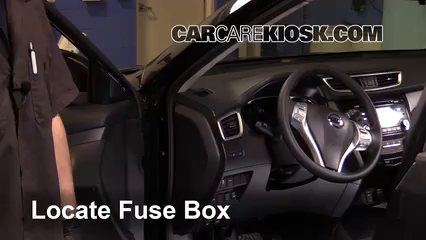 2016 Nissan Rogue S 2.5L 4 Cyl. Fuse (Interior)
