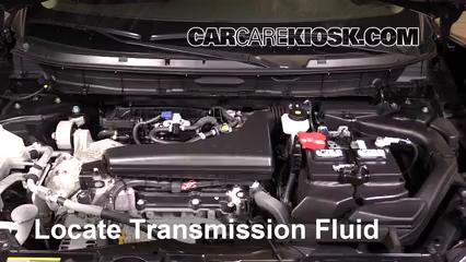 2016 Nissan Rogue S 2.5L 4 Cyl. Transmission Fluid