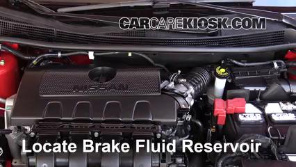 2016 Nissan Sentra FE+S 1.8L 4 Cyl. Brake Fluid