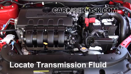 2016 Nissan Sentra FE+S 1.8L 4 Cyl. Fluid Leaks Transmission Fluid (fix leaks)