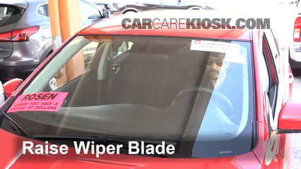 2016 Nissan Sentra FE+S 1.8L 4 Cyl. Windshield Wiper Blade (Front) Replace Wiper Blades