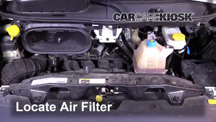 2016 Ram ProMaster 1500 3.6L V6 FlexFuel Air Filter (Engine)