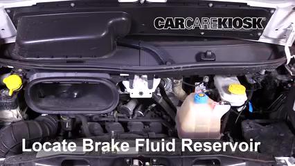 2016 Ram ProMaster 1500 3.6L V6 FlexFuel Brake Fluid