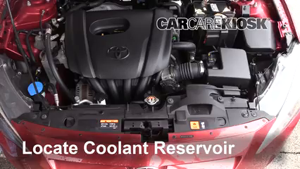 2016 Scion iA 1.5L 4 Cyl. Coolant (Antifreeze)