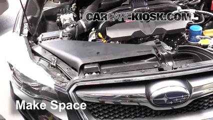 2016 Subaru Crosstrek Limited 2.0L 4 Cyl. Hoses
