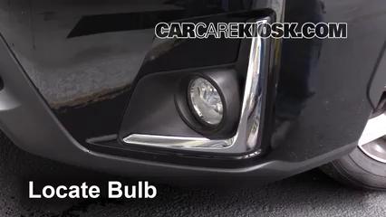 2016 Subaru Crosstrek Limited 2.0L 4 Cyl. Luces Luz de niebla (reemplazar foco)