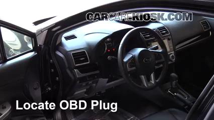 2016 Subaru Crosstrek Limited 2.0L 4 Cyl. Compruebe la luz del motor Diagnosticar