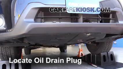 2016 Subaru Crosstrek Limited 2.0L 4 Cyl. Aceite Cambiar aceite y filtro de aceite