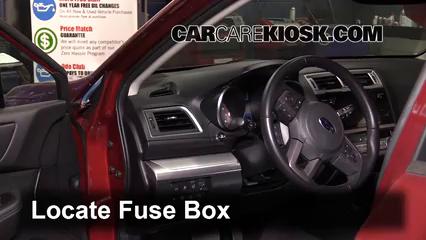 2016 Subaru Outback 2.5i Premium 2.5L 4 Cyl. Fusible (interior)