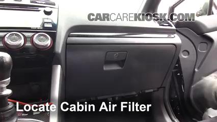 2016 Subaru WRX STI 2.5L 4 Cyl. Turbo Filtro de aire (interior)