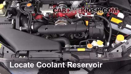 2016 Subaru WRX STI 2.5L 4 Cyl. Turbo Pérdidas de líquido