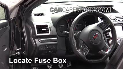 2016 Subaru WRX STI 2.5L 4 Cyl. Turbo Fusible (interior)