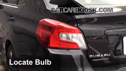 2016 Subaru WRX STI 2.5L 4 Cyl. Turbo Luces