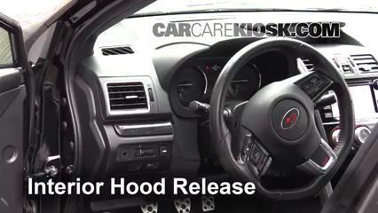 2016 Subaru WRX STI 2.5L 4 Cyl. Turbo Capó