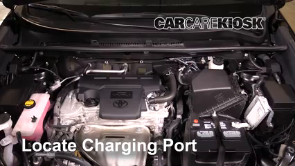 2016 Toyota RAV4 Limited 2.5L 4 Cyl. Aire Acondicionado