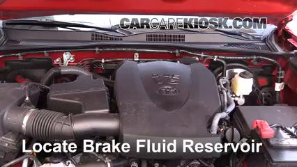 2016 Toyota Tacoma SR5 3.5L V6 Crew Cab Pickup Brake Fluid
