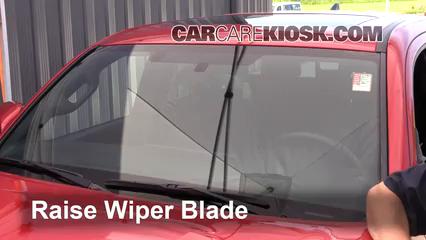 2016 Toyota Tacoma SR5 3.5L V6 Crew Cab Pickup Windshield Wiper Blade (Front)