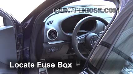 audi a 3 fuse box interior fuse box location 2015 2019 audi s3 2017 audi s3  interior fuse box location 2015 2019