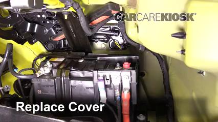 2016 camaro battery location