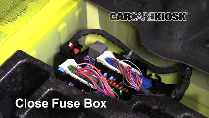 Interior Fuse Box Location: 2016-2019 Chevrolet Camaro