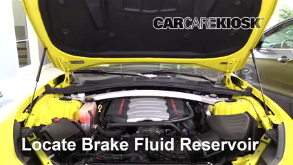 2017 Chevrolet Camaro SS 6.2L V8 Convertible Brake Fluid Add Fluid