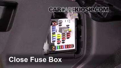 Interior    Fuse    Box Location  20102017 Chevrolet    Equinox