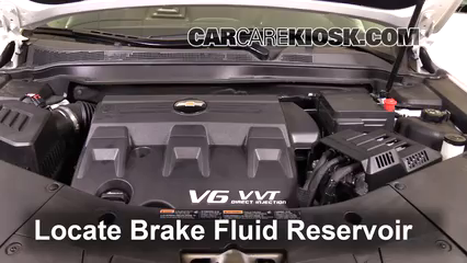 2017 Chevrolet Equinox Premier 3.6L V6 Brake Fluid