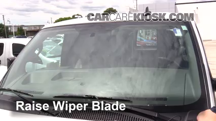 2017 Chevrolet Express 2500 4.8L V8 FlexFuel Extended Cargo Van Windshield Wiper Blade (Front) Replace Wiper Blades