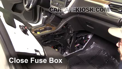Interior Fuse Box Location: 2017-2019 GMC Acadia - 2017 GMC Acadia SLE 2.5L  4 Cyl.CarCareKiosk