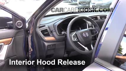 Check Oil Level 2017-2019 Honda CR-V - 2017 Honda CR-V EX