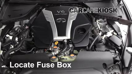 [DHAV_9290]  Replace a Fuse: 2017-2019 Infiniti Q60 - 2017 Infiniti Q60 Premium 3.0L V6  Turbo | Infiniti Qx60 Fuse Box |  | CarCareKiosk