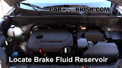 2017 Kia Sportage LX 2.4L 4 Cyl. Brake Fluid