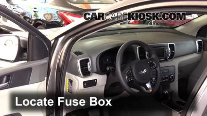 Interior Fuse Box Location: 2017-2020 Kia Sportage - 2017 ... on hyundai xg300 fuse box diagram, 01 kia sportage fuse diagram, mercedes c class fuse box diagram, daewoo lanos fuse box diagram, acura cl fuse box diagram, lexus is300 fuse box diagram, lexus rx330 fuse box diagram, 2000 kia sportage fuse diagram, kia spectra5 fuse box diagram, vw new beetle fuse box diagram, 2000 kia sephia fuse box diagram, 2009 kia optima fuse box diagram, 2006 kia spectra fuse box diagram, honda crx fuse box diagram, mazda mx3 fuse box diagram, 2001 kia sephia fuse box diagram, 2003 kia spectra fuse box diagram, mazda rx7 fuse box diagram, saab 9-7x fuse box diagram, kia sportage tail lights,