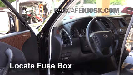 interior fuse box location 2017 2019 nissan armada 2017 nissan Hyundai Entourage Fuse Box Diagram
