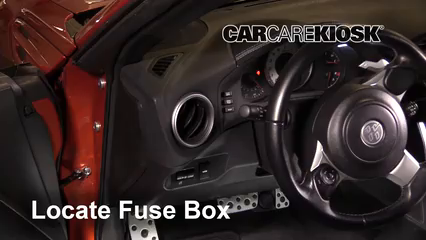 Interior Fuse Box Location 2017 2017 Toyota 86 2017 Toyota 86 2 0